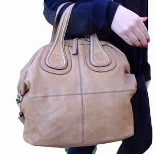 Authentic Tan Givenchy Nightingale